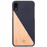Apple iPhone XR Woodcessories EcoCase EcoSplit Case - Maple/Navy