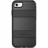 Apple iPhone 8/7/6s/6 Pelican Voyager Series Case - Black/Black
