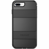 Apple iPhone 8+/7+/6s+/6+ Pelican Voyager Series Case - Black/Black