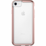 Apple iPhone 8/7/6s/6 Pelican Adventurer Series Case - Clear/Rose Gold