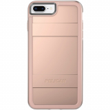 Apple iPhone 8 Plus/7 Plus/6s Plus/6 Plus Pelican Protector Series Case - Metallic Rose Gold