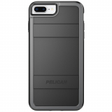 Apple iPhone 8 Plus/7 Plus/6s Plus/6 Plus Pelican Protector Series Case - Black/Grey