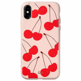 Apple iPhone Xs/X Laut Tutti Frutti Scented Series Case - Cherry