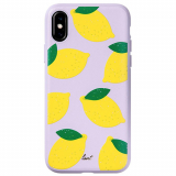 Apple iPhone Xs/X Laut Tutti Frutti Scented Series Case - Lemon