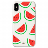Apple iPhone Xs/X Laut Tutti Frutti Scented Series Case - Watermelon