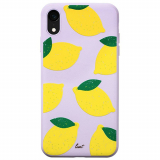 Apple iPhone XR Laut Tutti Frutti Scented Series Case - Lemon