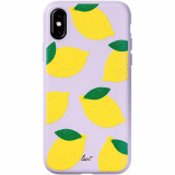 Apple iPhone Xs Max Laut Tutti Frutti Scented Series Case - Lemon