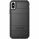 Apple iPhone Xs/X Pelican Protector Series Case- Black/Black