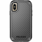 Apple iPhone Xs/X Pelican Shield Series Case - Black/Black