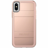 Apple iPhone Xs/X Pelican Protector Series Case - Metallic Rose Gold