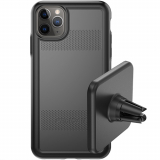 Apple iPhone 11 Pro Pelican Protector+EMS Series Case - Black/Black