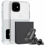 Apple iPhone 11 Nimbus9 Ghost 2 Case - Gunmetal Gray/Pure White