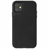 Apple iPhone 11 Mous Contour Series Case - Black Leather