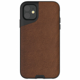 Apple iPhone 11 Mous Contour Series Case - Brown Leather