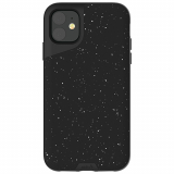 **NEW**Apple iPhone 11 Mous Contour Series Case - Speckled Black Leather