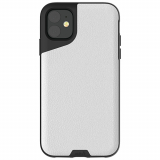 Apple iPhone 11 Mous Contour Series Case - White Leather