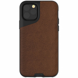 Apple iPhone 11 Pro Max Mous Contour Series Case - Brown Leather