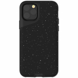 Apple iPhone 11 Pro Max Mous Contour Series Case - Speckled Black Leather