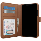 Apple iPhone 11 Pro Max Skech Polo Book Series Case - Brown