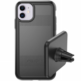 **NEW**Apple iPhone 11 Pelican Protector+EMS Series Case - Black/Black