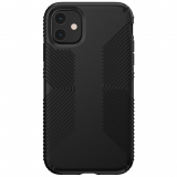Apple iPhone 11 Speck Presidio Grip Series Case w/ Microban - Black