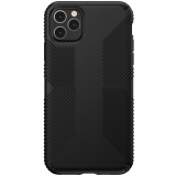 Apple iPhone 11 Pro Max Speck Presidio Grip Series Case w/ Microban - Black/Black
