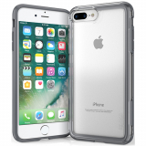 Apple iPhone 8 Plus/7 Plus/6s Plus/6 Plus Pelican Adventurer Series Case - Clear/Dark Grey
