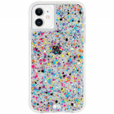 Apple iPhone 11/XR Case-Mate Spray Paint Series Case - Rainbow Flecks