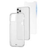 Apple iPhone 11 Pro Max/Xs Max Case-Mate Protection Pack:Tough Clear Series Case & Glass