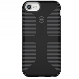 Apple iPhone SE 2020/8 Speck CandyShell Grip Series Case - Black/Slate Grey