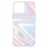 Apple iPhone 12 mini Case-Mate Soap Bubble Series Case with Micropel - Iridescent