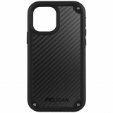Apple iPhone 12 mini Pelican Shield Series Case with Micropel - Black Kevlar