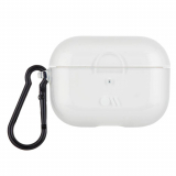 Apple AirPod Pro Case-Mate Case - Clear with Black Carabiner