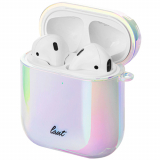 Apple AirPod Laut Holographic Series Case - Pearl