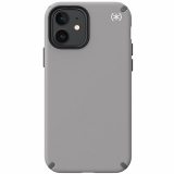 Apple iPhone 12 mini Speck Presidio 2 Grip Case - Cathedral Grey/Graphite Grey/White