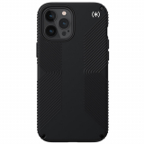 Apple iPhone 12 Pro Max Speck Presidio 2 Grip Series Case - Black/Black/White