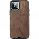 Apple iPhone 12/12 Pro Mous Limitless 3.0 Series Case - Walnut