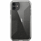 Apple iPhone 11 Speck Perfect Clear Grip Series Case - Clear with Gold Glitter