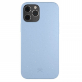 Apple iPhone 12 Pro Max Woodcessories Bio Series Case with Antimicrobial - Purple Blue
