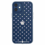 **NEW**Apple iPhone 12 Mini Case-Mate Iridescent Gem Case with Micropel - Iridescent