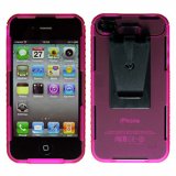 Apple iPhone 4/4s Connect Case - Pink Opaque