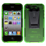 Apple iPhone 4/4s Connect Case - Lime Green Opaque