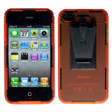 Apple iPhone 4/4s Connect Case - Orange Opaque