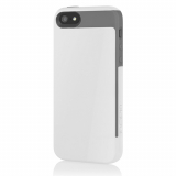 Apple iPhone 5/5s/SE Incipio Faxion Case - White/Gray