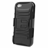 Apple iPhone 5/5s/SE Shell Case Combo - Black