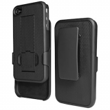 Apple iPhone 4 PureGear Holster Shield Combo - Black