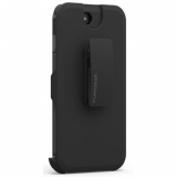 Apple iPhone 8/7 PureGear DualTek with Hip Clip Holster - Black