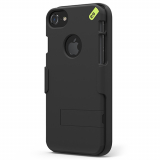 Apple iPhone 8/7/6S PureGear Hip Case and Clip Holster Snap On Shield Combo - Black