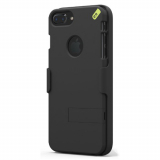 Apple iPhone 7 Plus/6s Plus/6 Plus PureGear Hip Case and Clip Holster Snap On Shield Combo - Black