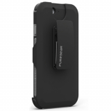 Apple iPhone 6/6s PureGear DualTek with Hip Clip Holster - Black